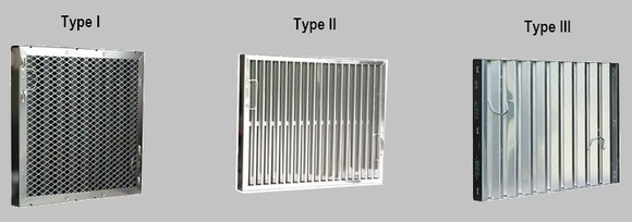 Different Types of Range Hood Filters